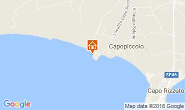 Kaart Isola di Capo Rizzuto Appartement 115157