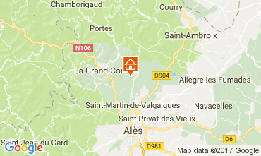 Kaart Alès Villa 112619