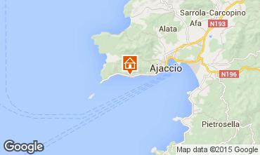 Kaart Ajaccio Studio 95253