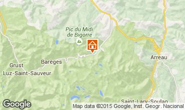 Kaart La Mongie Studio 4288