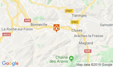 Kaart Mont Saxonnex Chalet 92047