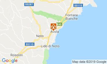 Kaart Avola Appartement 87482