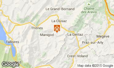 Kaart La Clusaz Studio 26919