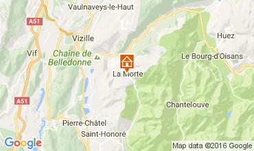 Kaart Alpe du Grand Serre Studio 112