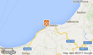 Kaart Castelsardo Appartement 81461