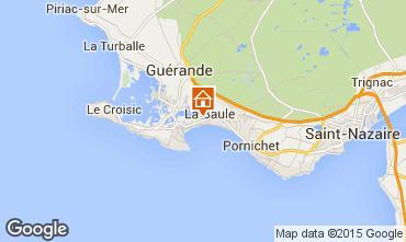 Kaart La Baule Appartement 69634