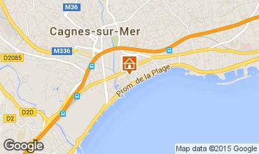 Kaart Cagnes sur Mer Studio 88013