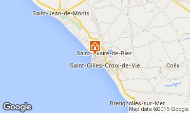 Kaart Saint Hilaire de Riez Huis 51364