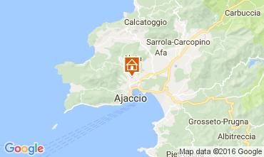 Kaart Ajaccio Appartement 80878