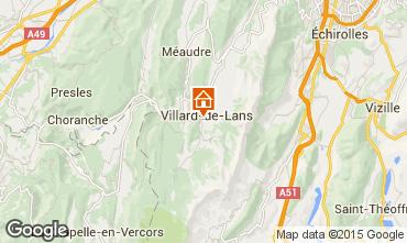 Kaart Villard de Lans - Corrençon en Vercors Appartement 57741