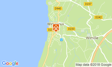 Kaart Wimereux Appartement 113891