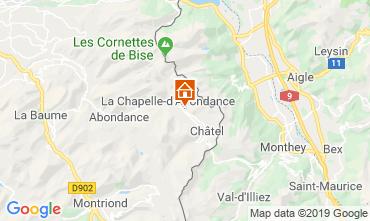 Kaart Châtel Chalet 16141