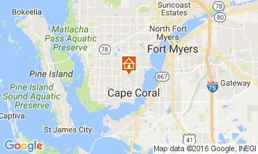Kaart Cape Coral Villa 106569