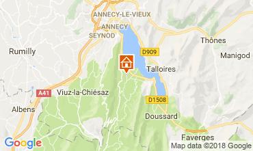 Kaart Annecy Appartement 114387