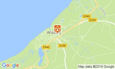 Kaart Wissant Vakantiehuis 113121