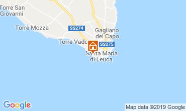 Kaart Santa Maria di Leuca Villa 64390
