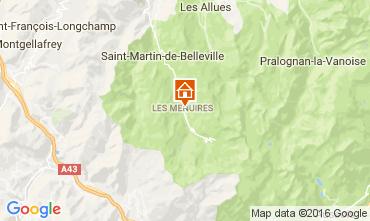 Kaart Les Menuires Appartement 28098