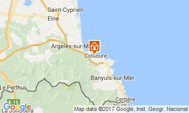 Kaart Collioure Appartement 108645