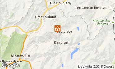Kaart Les Saisies Appartement 66566