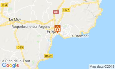 Kaart Fréjus Appartement 91515