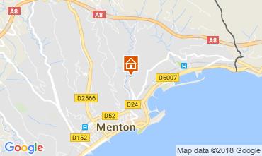 Kaart Menton Appartement 115764