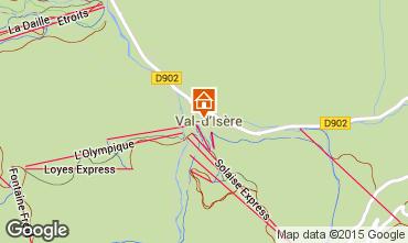 Kaart Val d'Isère Appartement 3359