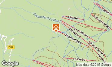 Kaart Les Arcs Appartement 101287