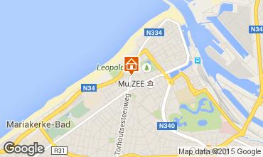 Kaart Oostende Studio 77524