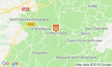 Kaart Le Mont Dore Appartement 3876