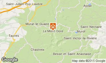 Kaart Le Mont Dore Appartement 42364