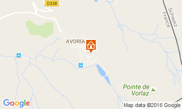 Kaart Avoriaz Studio 107145