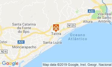 Kaart Cabanas de Tavira Appartement 119589