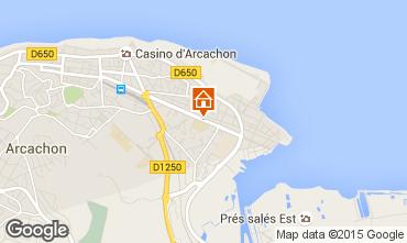Kaart Arcachon Appartement 60781