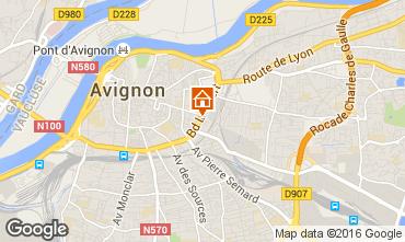 Kaart Avignon Studio 102312