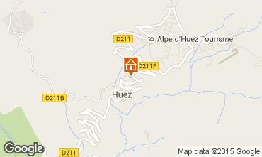 Kaart Alpe d'Huez Chalet 100569