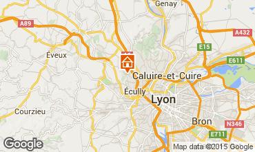 Kaart Lyon Vakantiehuis 100775
