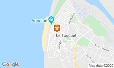 Kaart Le Touquet Appartement 118316