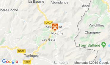 Kaart Morzine Chalet 117973