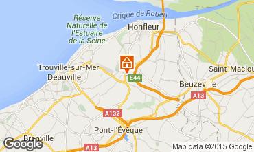 Kaart Honfleur Huis 7708