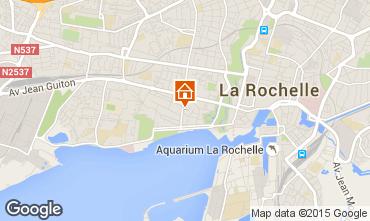 Kaart La Rochelle Vakantiehuis 75124