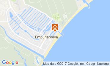 Kaart Empuriabrava Appartement 110284