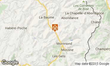 Kaart Saint Jean d'Aulps- La Grande Terche Studio 2513