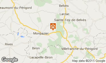 Kaart Monpazier Huis 101840