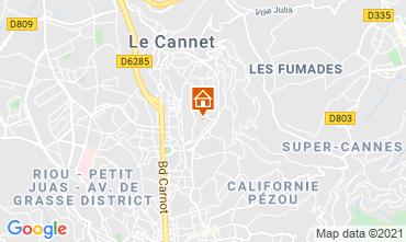 Kaart Cannes Appartement 76852