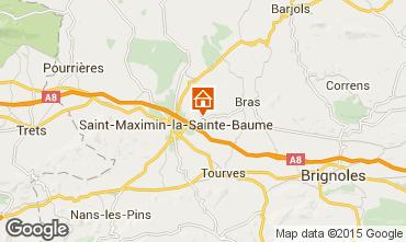 Kaart Saint Maximin la Sainte Baume Villa 79351