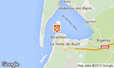 Kaart Arcachon Appartement 75728