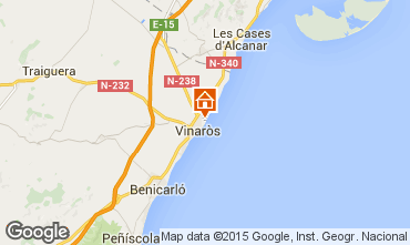 Kaart Vinaròs Villa 29753