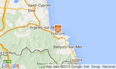 Kaart Collioure Appartement 102973
