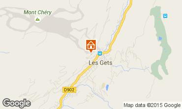 Kaart Les Gets Chalet 1350