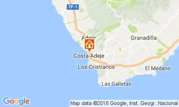 Kaart Playa de las Américas Appartement 113177